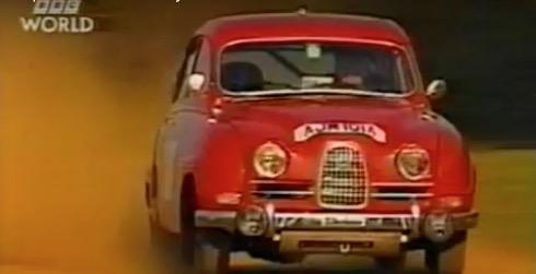 SAAB Rally Cars – Top Gear
