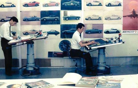 Designers Developing the 240Z